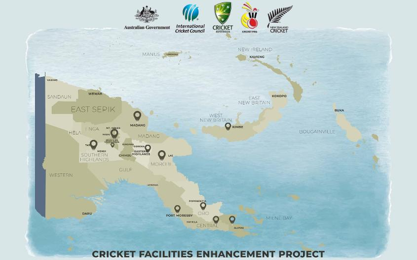PNG Cricket Facilities Enhancement Project