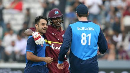 IN PICS: ICC World XI v Windies - Hurricane Relief T20 Challenge