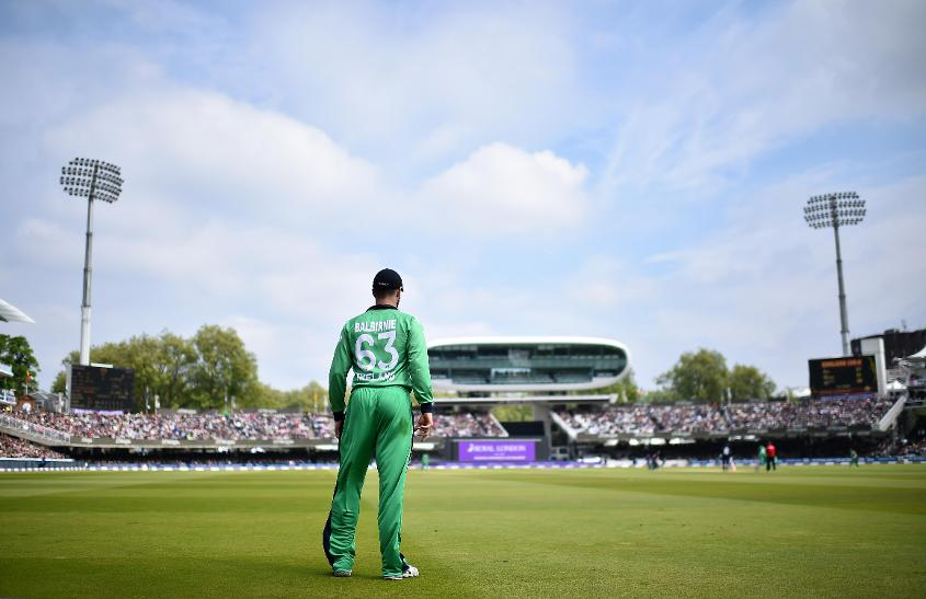Ireland's first match at Lord's was an ODI in May 2017
