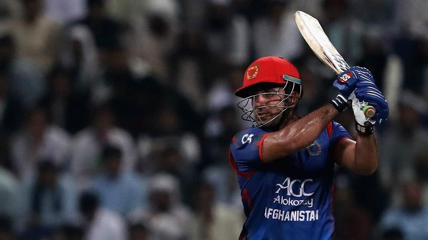 Samiullah Shenwari top-scored in the three-match series with 118 runs to his name