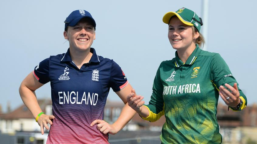 England and South Africa met in the semi-final of the ICC Women's World Cup 2017