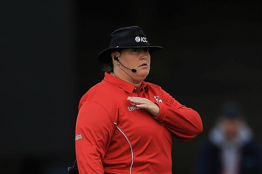 Sue Redfern is a member of the ICC International Panel for Developing Umpires