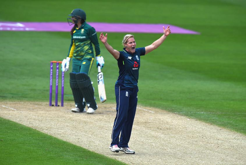 Brunt took 1/31 against South Africa at Worcester