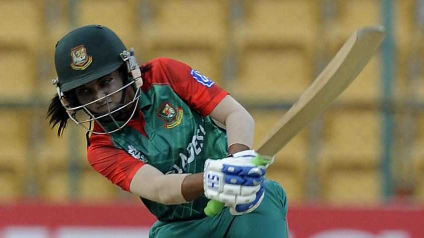 Nigar Sultana led the Bangladesh chase