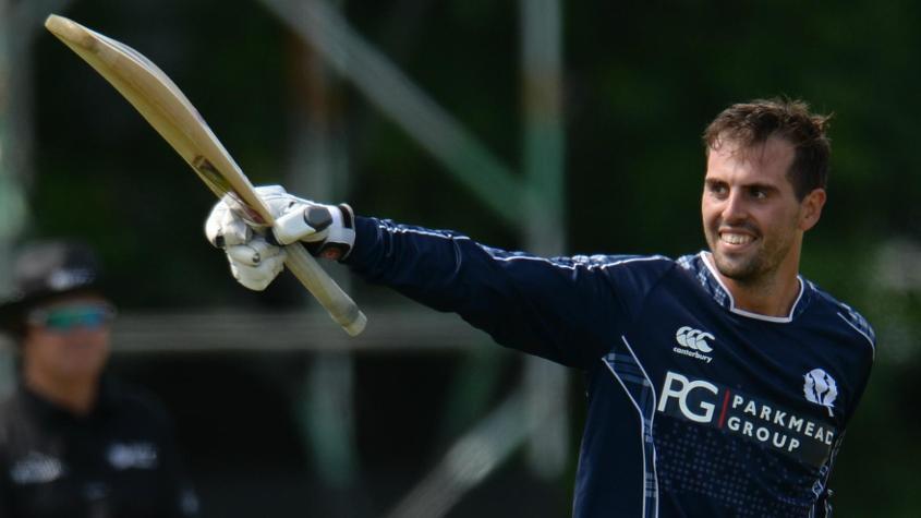 Calum MacLeod was the star in Scotland's ODI win over England