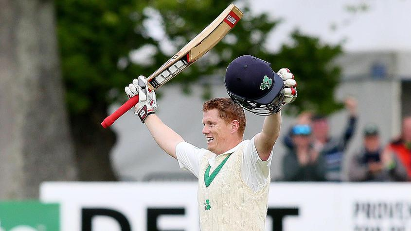Kevin O'Brien's century was the highlight of Ireland's Test debut