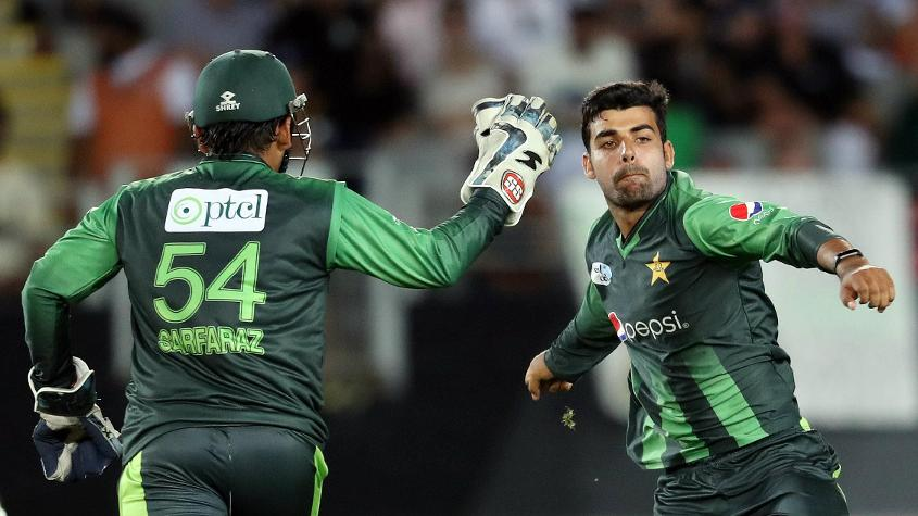 Shadab Khan is the second-ranked T20I bowler in the world
