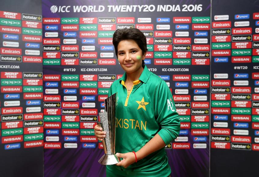 Pakistan's Anam Amin is ranked fifth among bowlers in the latest update