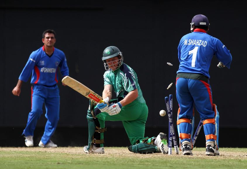 Afghanistan defeated Ireland in the final of the World T20 Qualifier 2010