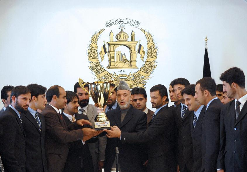 Afghanistan became joint winners of the inaugural ACC Twenty20 Cup in 2007