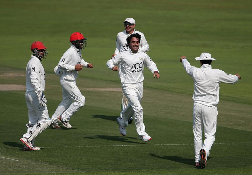 Afghanistan clinched the 2015-2017 Intercontinental Cup title after beating UAE by 10 wickets