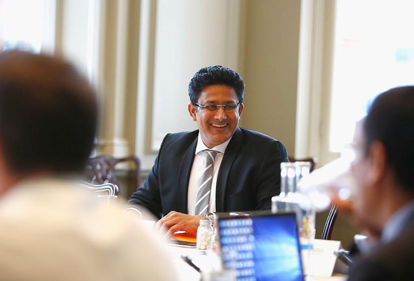Anil Kumble delivered the MAK Pataudi Memorial Lecture in 2013