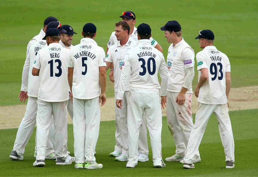 Steyn recently returned to action for Hampshire