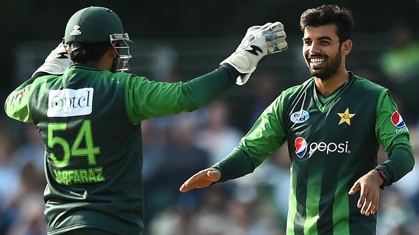 Shadab Khan was excellent, returning 2/25
