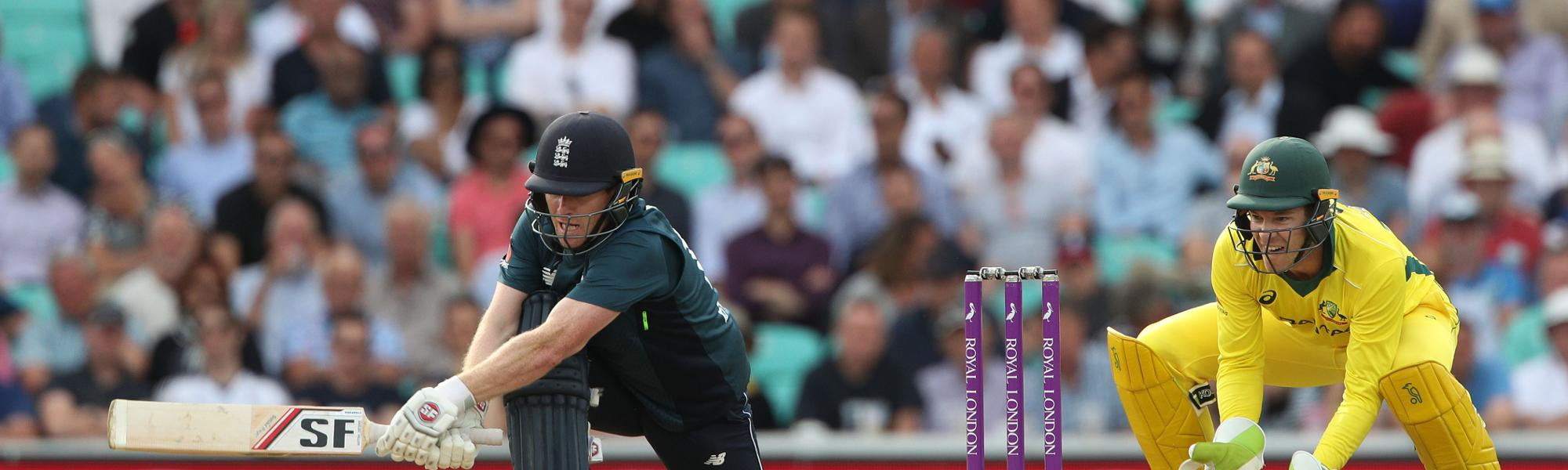 Eoin Morgan was in scintillating form