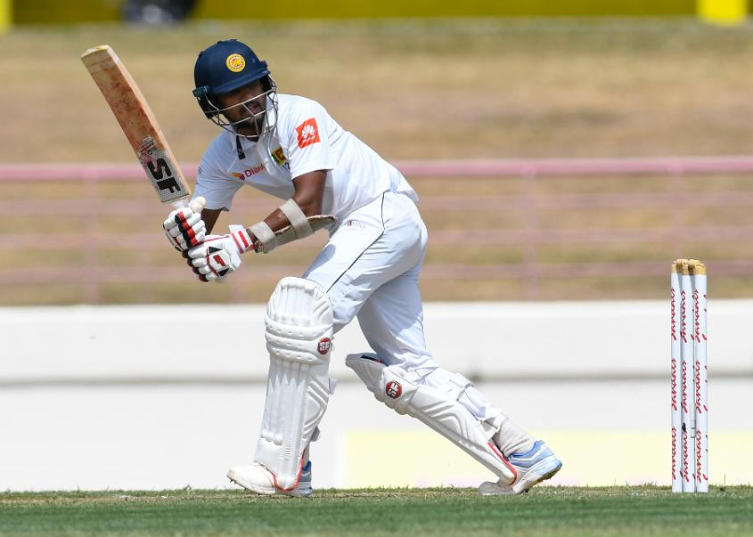 Dinesh Chandimal made a valiant hundred