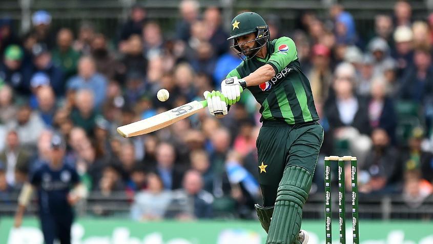 Shoaib Malik top scored for Pakistan with 49 runs
