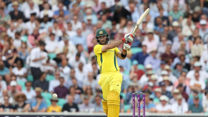 Glenn Maxwell top scored for Australia with 62 runs