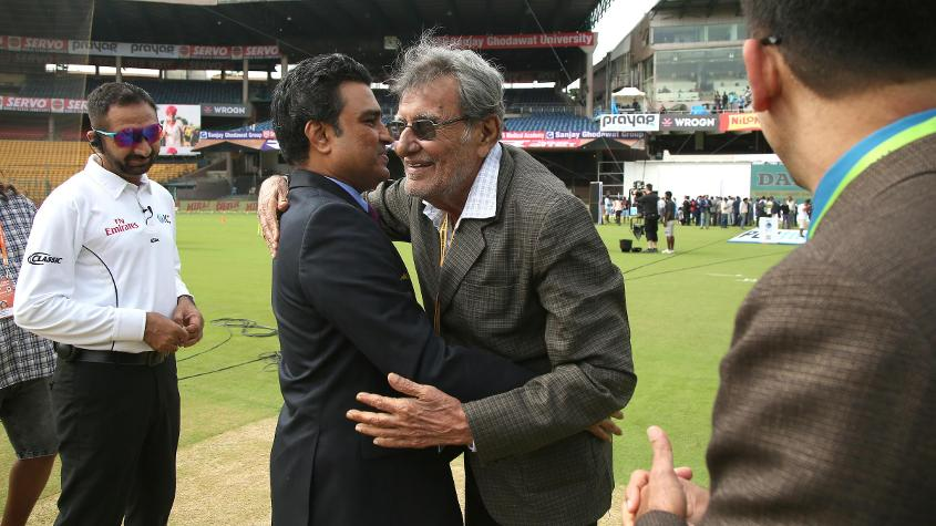 In attendance was Salim Durani, India's only Afghanistan-born Test cricketer