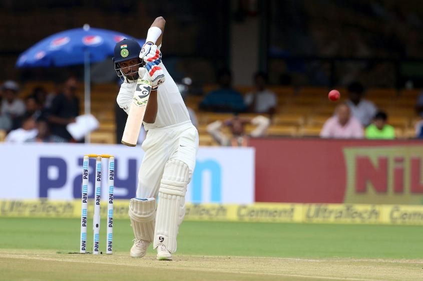 Hardik Pandya's 71 steered India to a first-innings total of 474