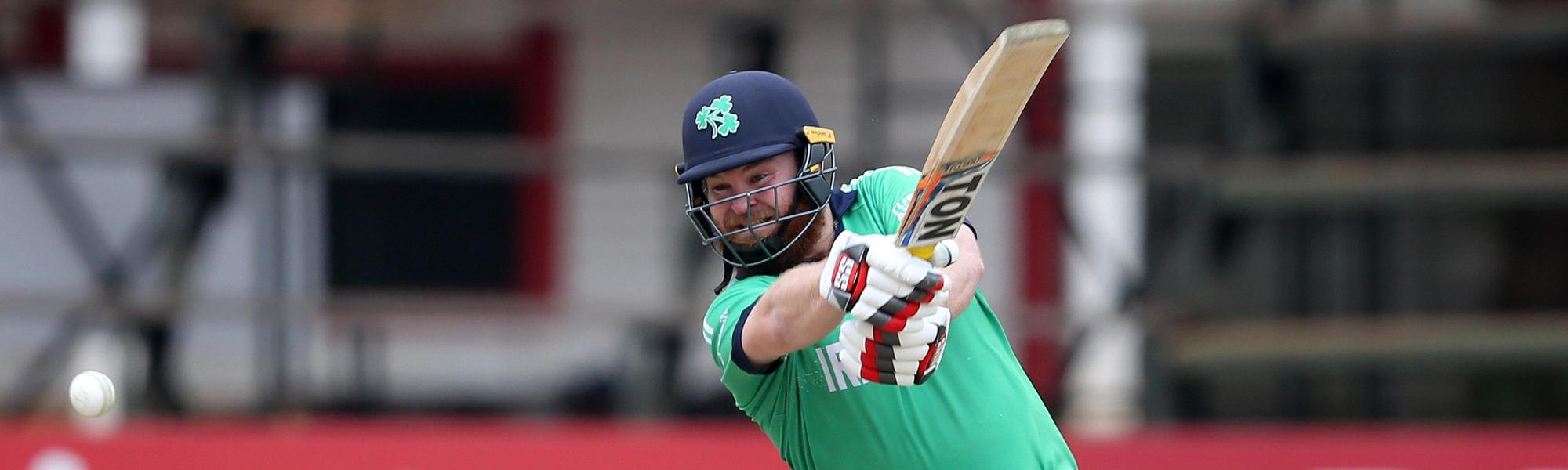 Paul Stirling hit his highest T20I score