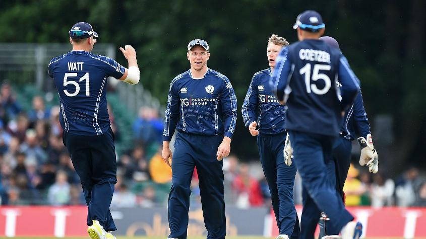 Scotland beat England by six runs in a one-off ODI on 10 June