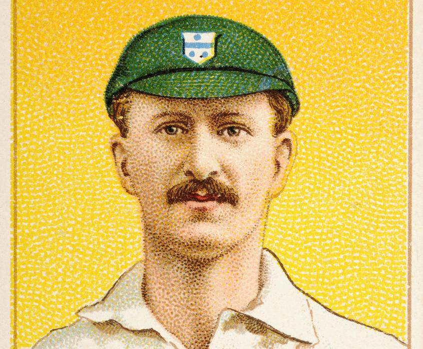 Tip Foster scored 287 on Test debut, and also played football for England between 1900 and 1902