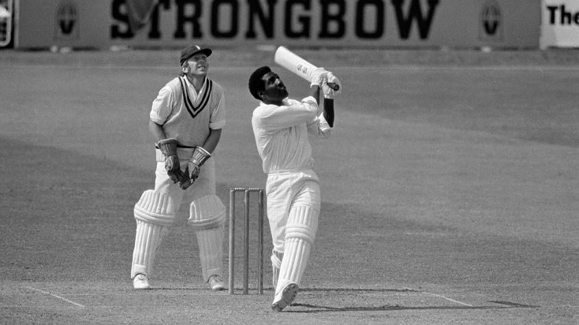 Viv Richards is perhaps the only man to play both the cricket and football World Cups