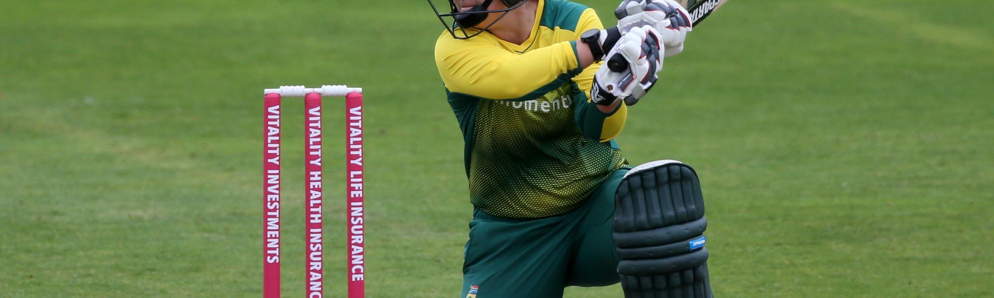 Dane van Niekerk blamed the bowlers for twin losses on the same day
