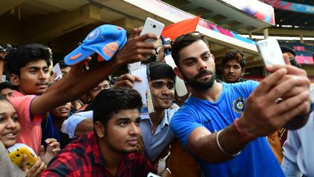 World #SelfieDay: A gallery of cricket selfies