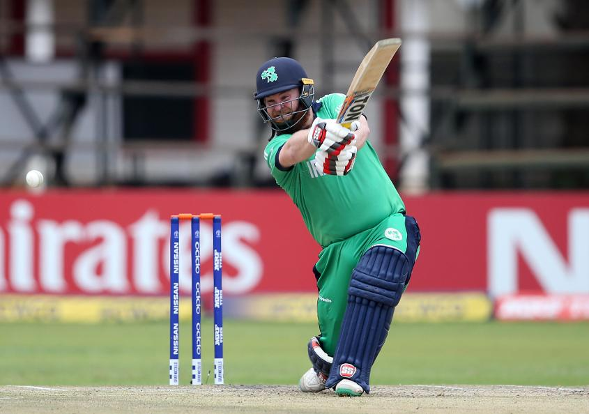 Paul Stirling has reached a career-best 27th position in batsmen's rankings