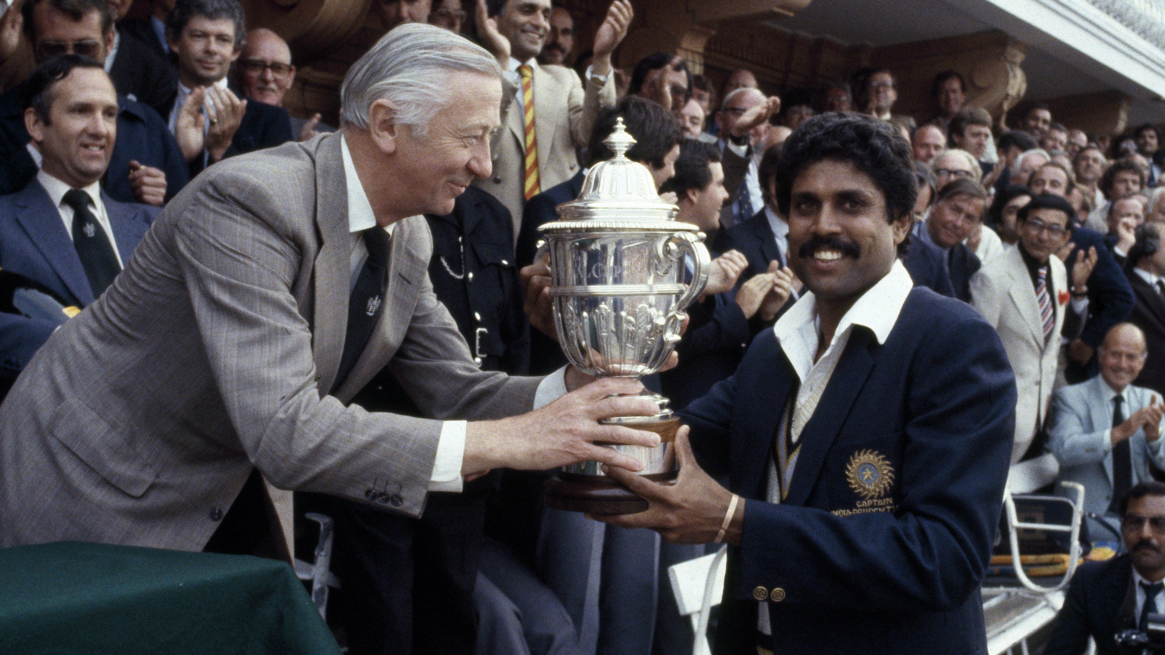 Image result for kapil dev world cup