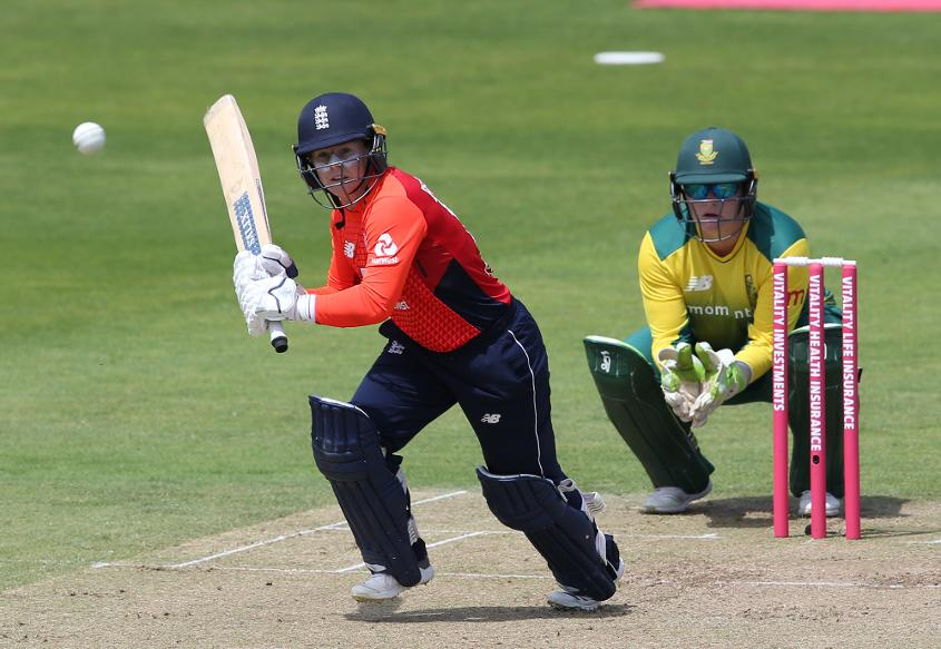 Beaumont followed up her trio of tons with 71