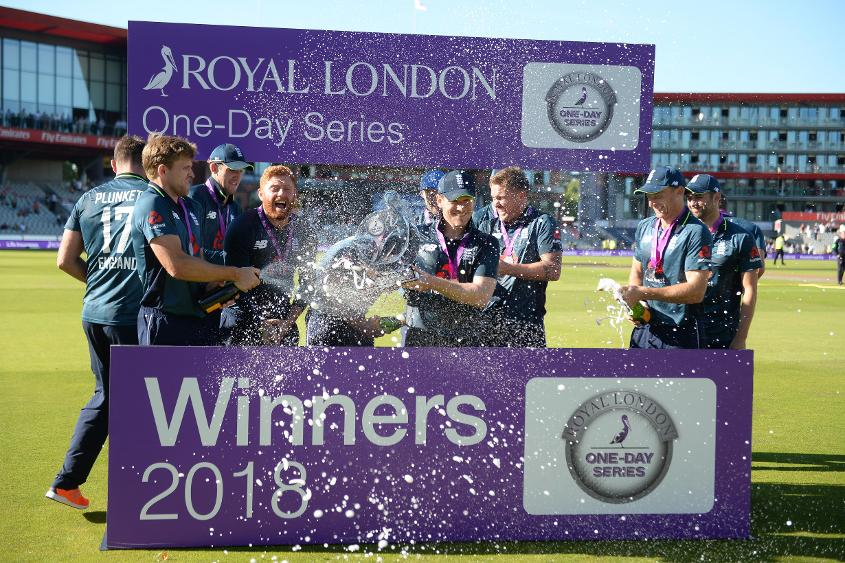 England swept the five-match series 5-0