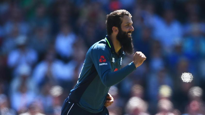 Moeen Ali has moved up 13 places to 12th position in the bowlers' chart