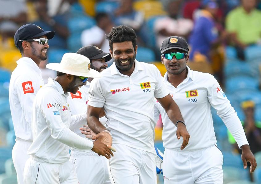 Sri Lanka restricted the Windies to 204