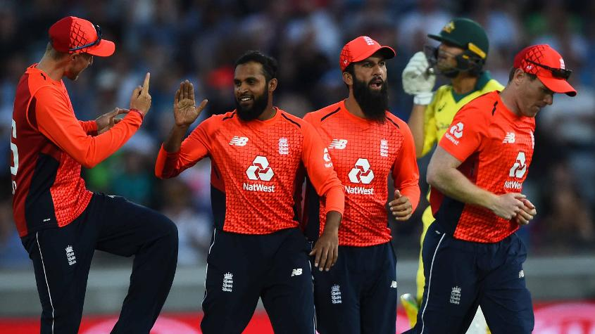 England won the one-off T20I after demolishing Australia 5-0 in the ODIs
