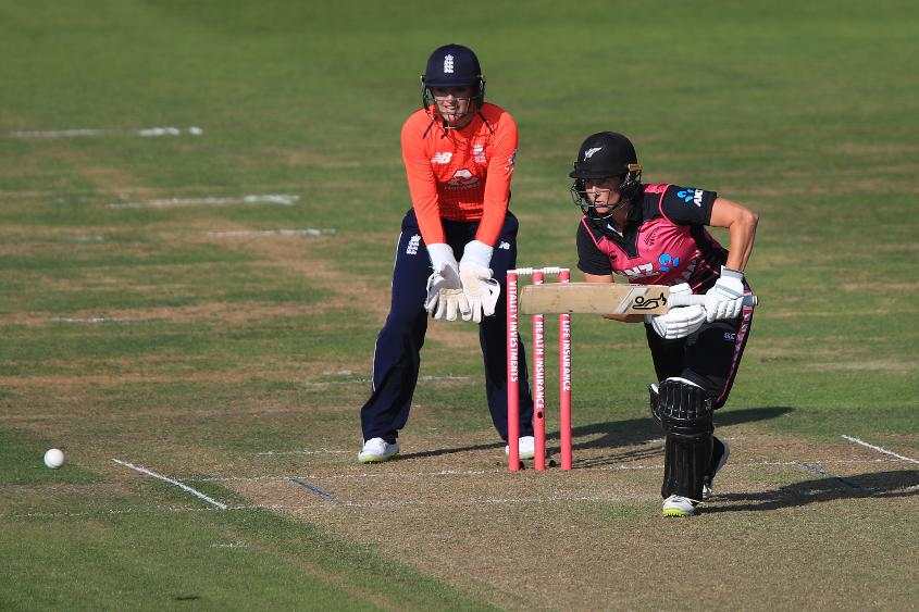 Sophie Devine scored her third half-century in four T20I innings