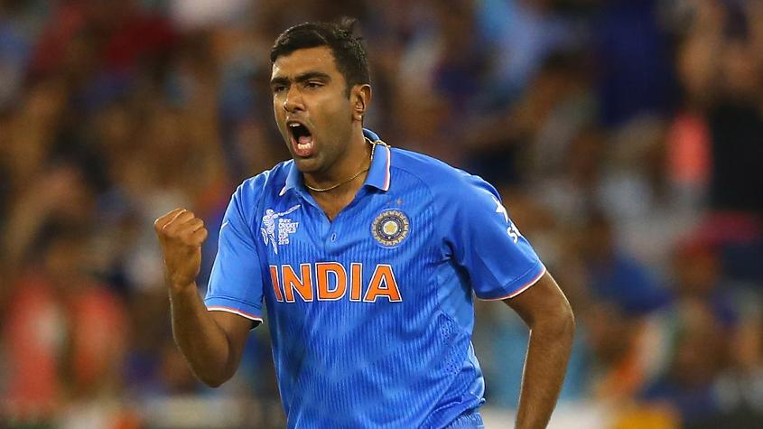 Ashwin has played at two World Cups, taking 17 wickets