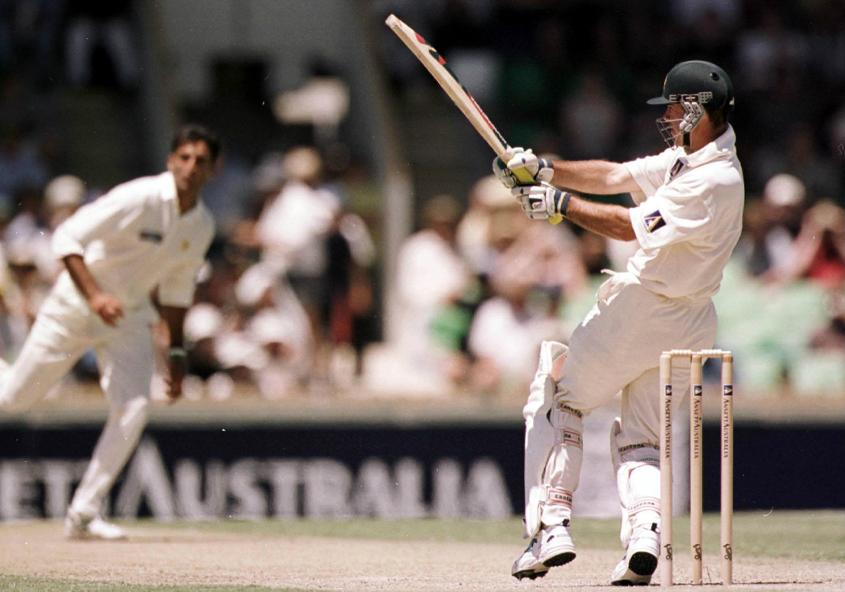 The 197 in Perth (1999) was scored against Wasim Akram, Shoaib Akhtar, Mohammad Akram and Saqlain Mushtaq