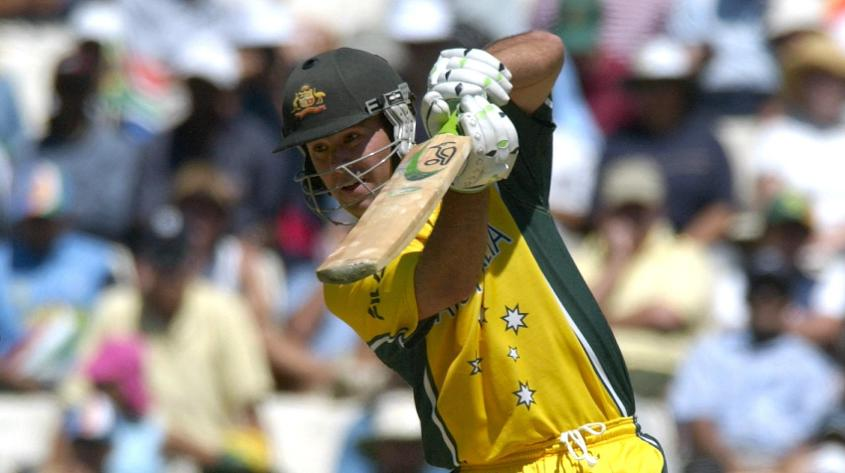 Ponting led Australia to the 2003 World Cup title with a blistering century