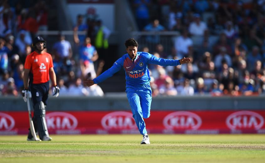 Kuldeep Yadav recorded figures of 5/24.
