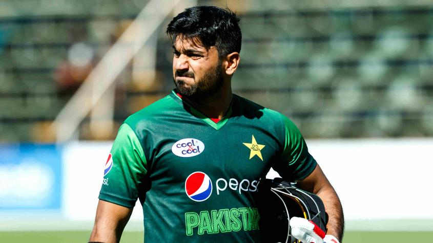 Hussain Talat scored a crucial 44 from No.3