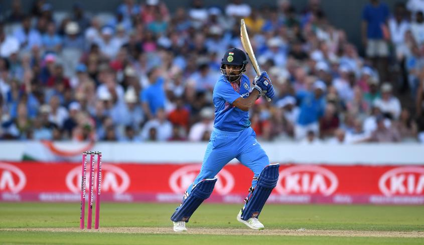 KL Rahul helped India chase down the target with his unbeaten 54-ball 101