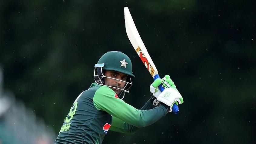 Fakhar Zaman wasn't at his fluent best, but still scored a 38-ball 47