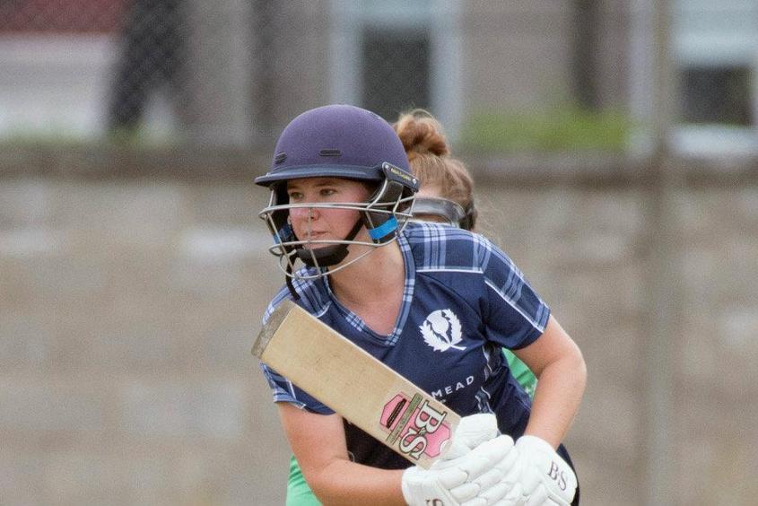 Bryce replaced Abbi Aitken as Scotland captain in April