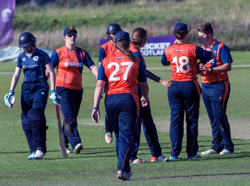 The Netherlands came through the Women's WT20 Europe/Americas Quailfier