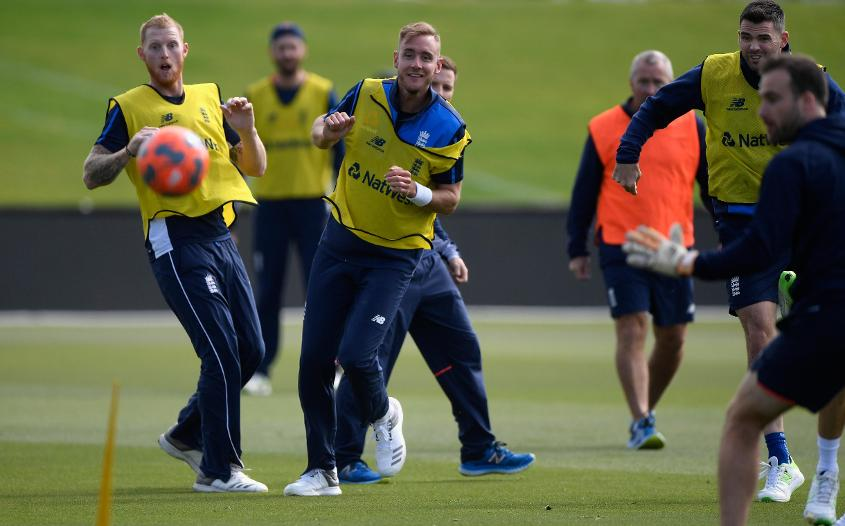 All of Ben Stokes, Stuart Broad and James Anderson are in a race to prove their fitness before the India matches