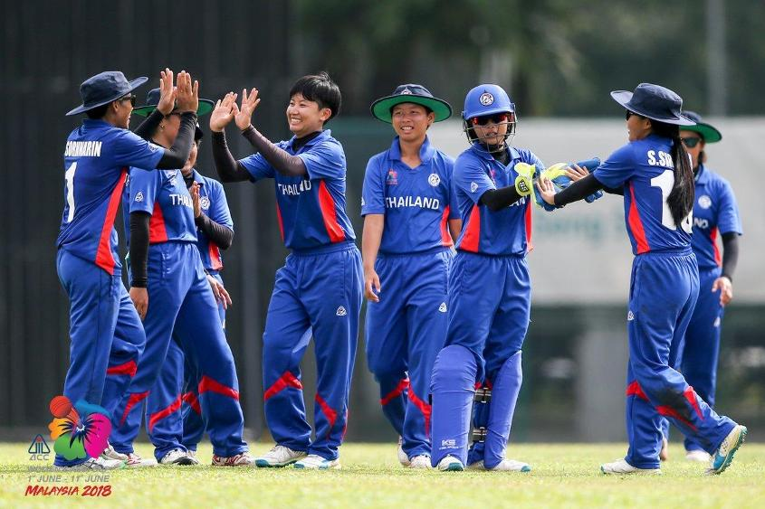 Image result for Thailand Women vs Kuwait Women cricket