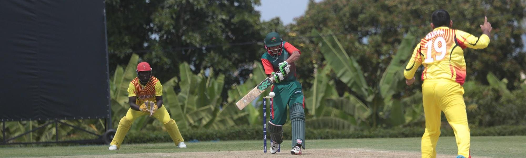 Dhiren Gondaria's 90 from 46 deliveries edged Kenya towards victory
